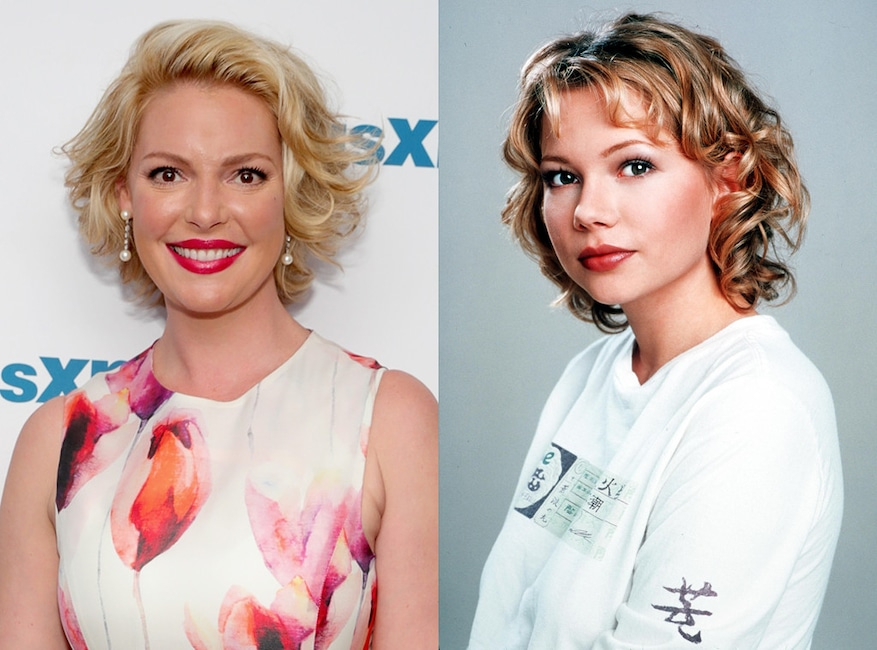 Katherine Heigl, Michelle Williams, Dawsons Creek