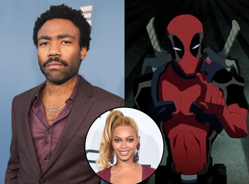 Donald Glover, Deadpool, Beyonce