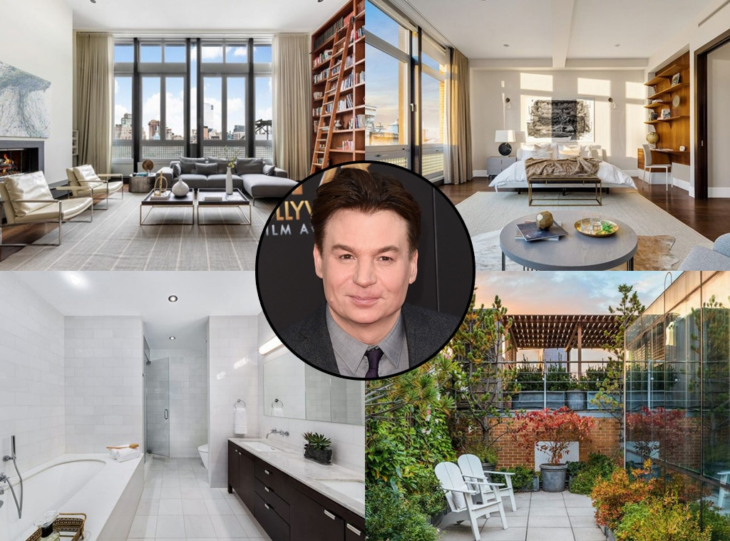Mike Myers, New York Penthouse