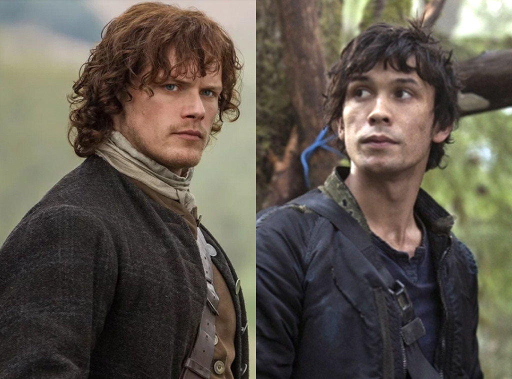 Sam Heughan, Outlander, Bob Morley, The 100