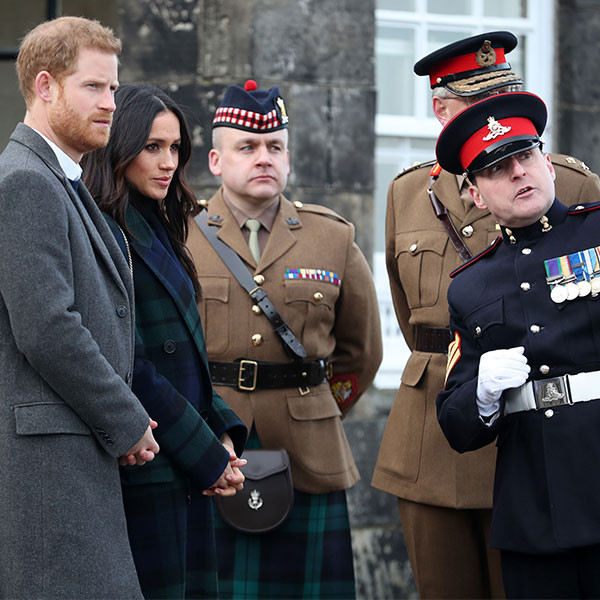 Prince Harry, Meghan Markle, Armed Forces Personnel