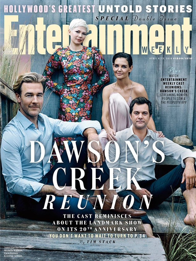 dawson s creek cast reunites after 20 years for entertainment weekly rh eonline com