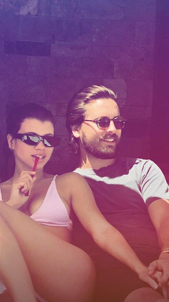 Scott Disick, Sofia Richie, Mason Disick, Mexico, Snapchat