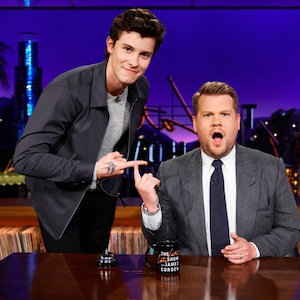 Shawn Mendes, James Corden