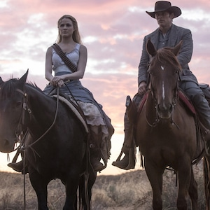 Evan Rachel Wood, James Mardsen, Westworld