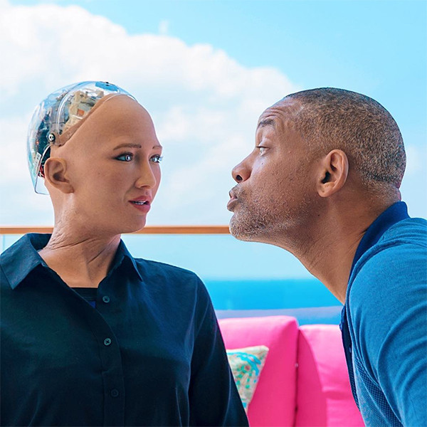 Will Smith's Date With Sophia The Robot Gets Awkward Fast