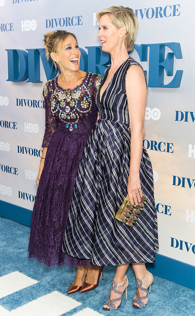 Sarah Jessica Parker and Cynthia Nixon