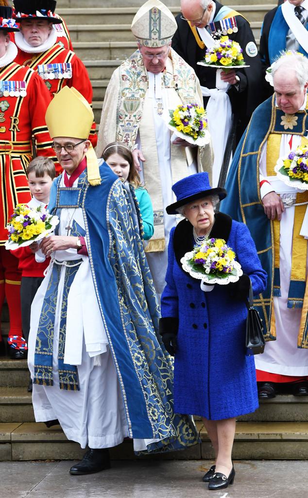 Queen Elizabeth II,  St George's Chapel