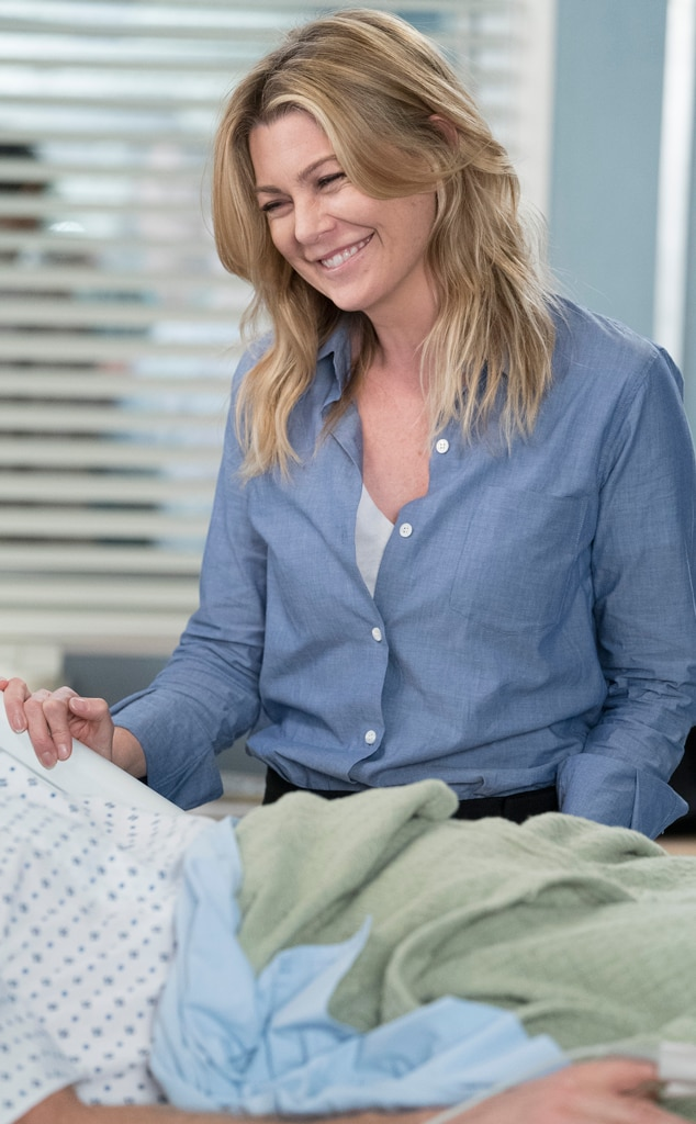 grey s anatomy just gave meredith her first patient meet cute in 14 rh eonline com