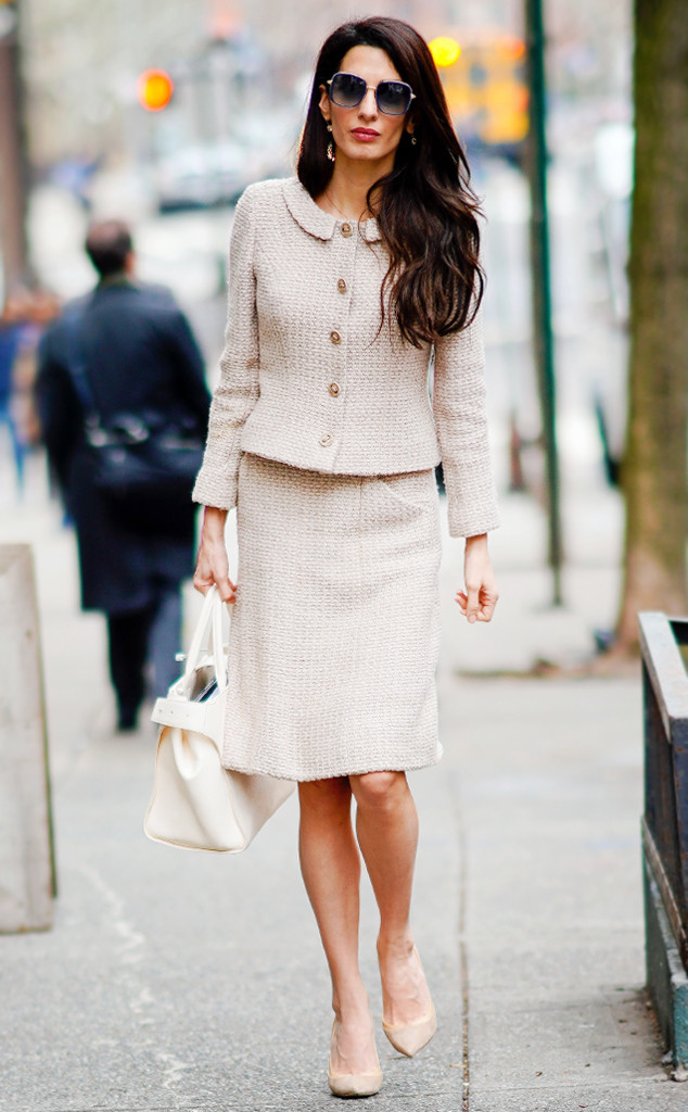 Amal Clooney Wears Spring S Power Suit And More Best Dressed Stars
