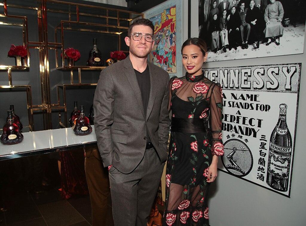 Jamie Chung, Bryan Greenberg, NYC Party