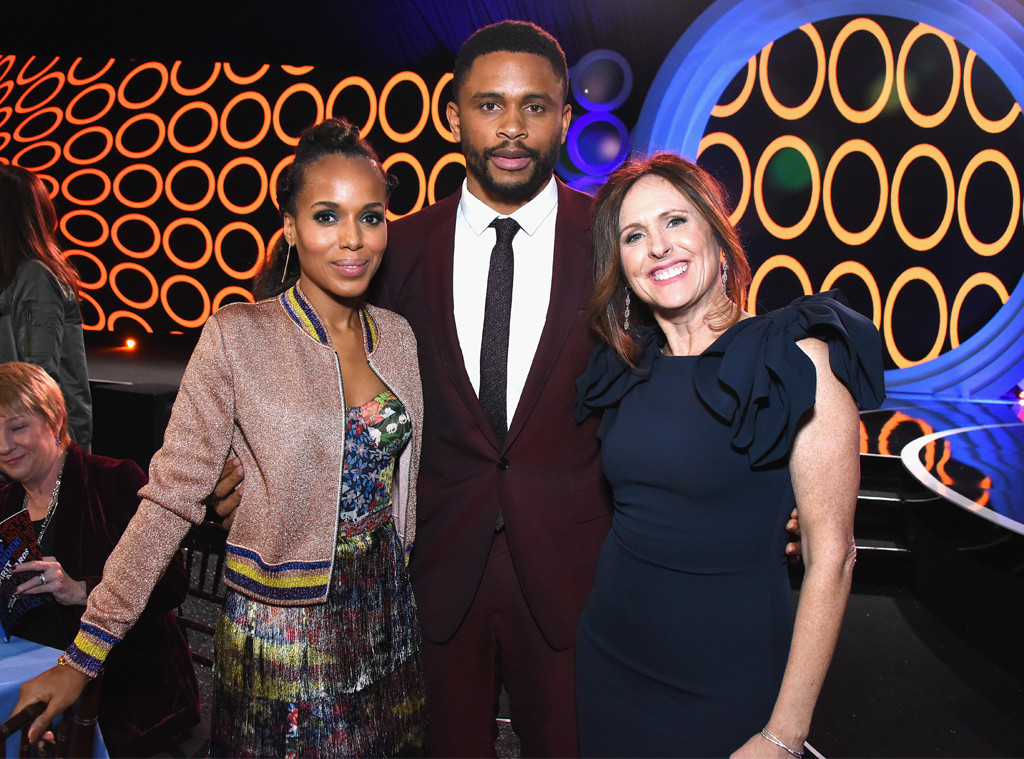 Kerry Washington, Nnamdi Asomugha, 2018 Film Independent Spirit Awards