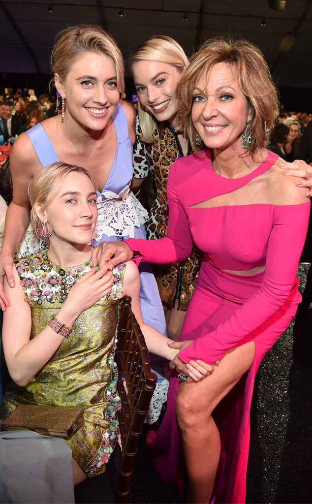 Saoirse Ronan, Greta Gerwig, Margot Robbie, Allison Janney, 2018 Film Independent Spirit Awards