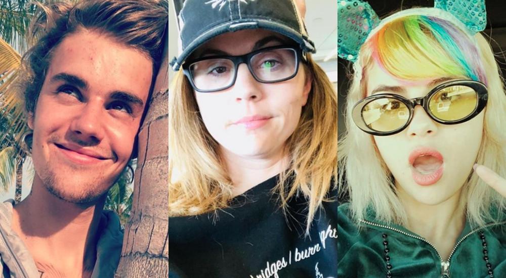 Justin Bieber, Mandy Teefey, Selena Gomez