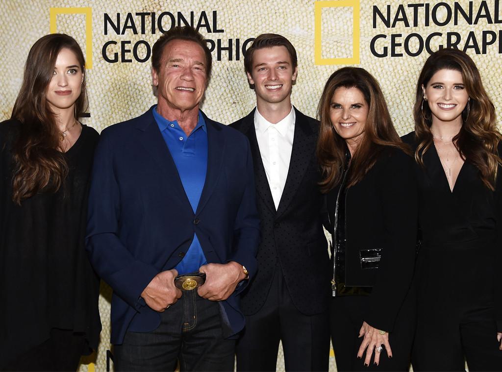 Christina Schwarzenegger, Arnold Schwarzenegger, Patrick Schwarzenegger, Maria Shriver, Katherine Schwarzenegger