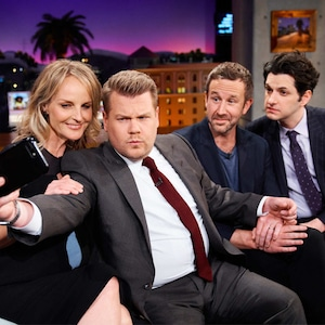 The Late Late Show, James Corden, Helen Hunt, Chris O'Dowd, Ben Schwartz