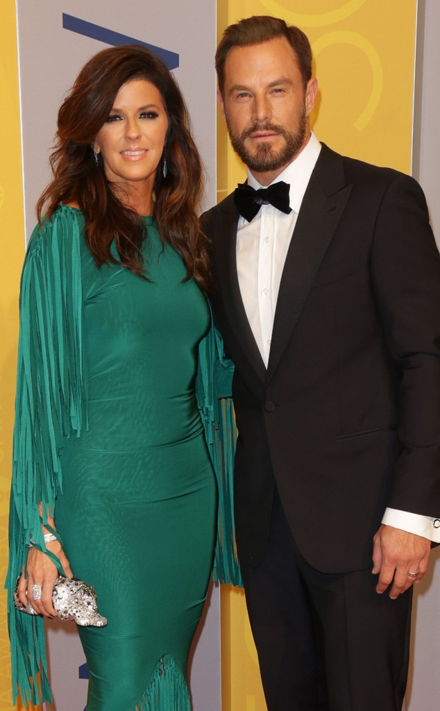 Karen Fairchild and Jimi Westbrook -  The  Little Big Town  members have been married since 2006, and are parents to son,  Elijah .