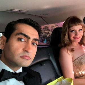 Kumail Nanjiani, Emily V. Gordon, 2018 Oscars