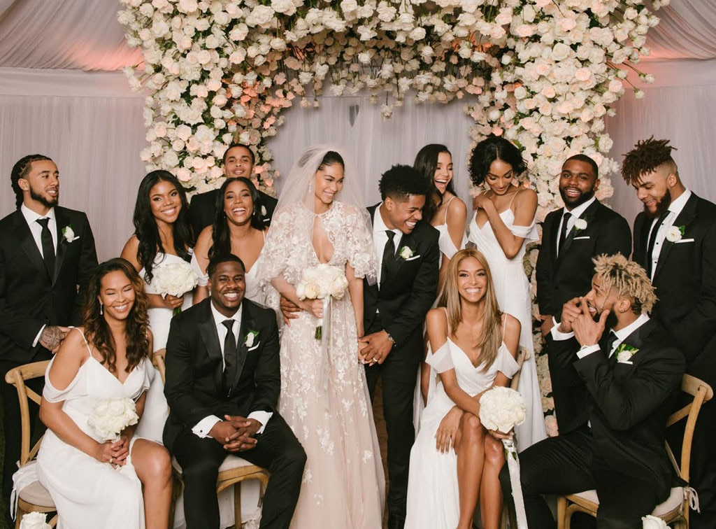 See Inside Chanel Iman\u0027s Picture Perfect Wedding\u2014and Her Two