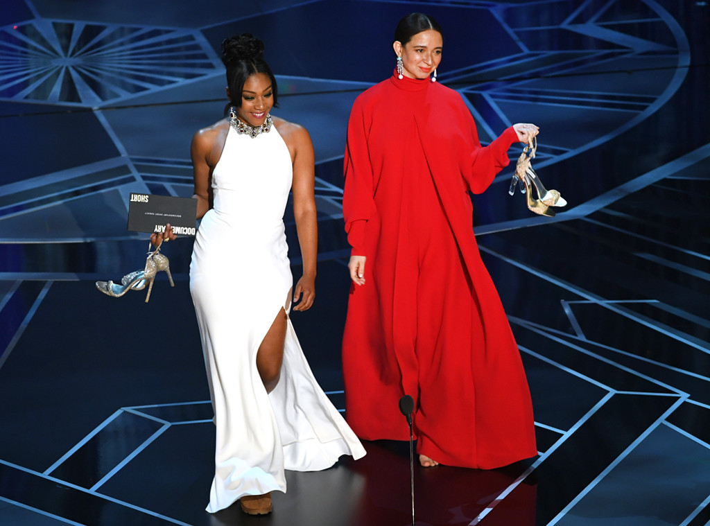 Tiffany Haddish, Maya Rudolph, 2018 Oscars, 2018, Show