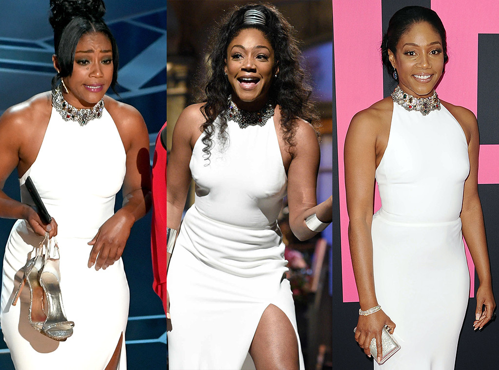 Tiffany Haddish, Oscars, SNL, Girls Trip premiere