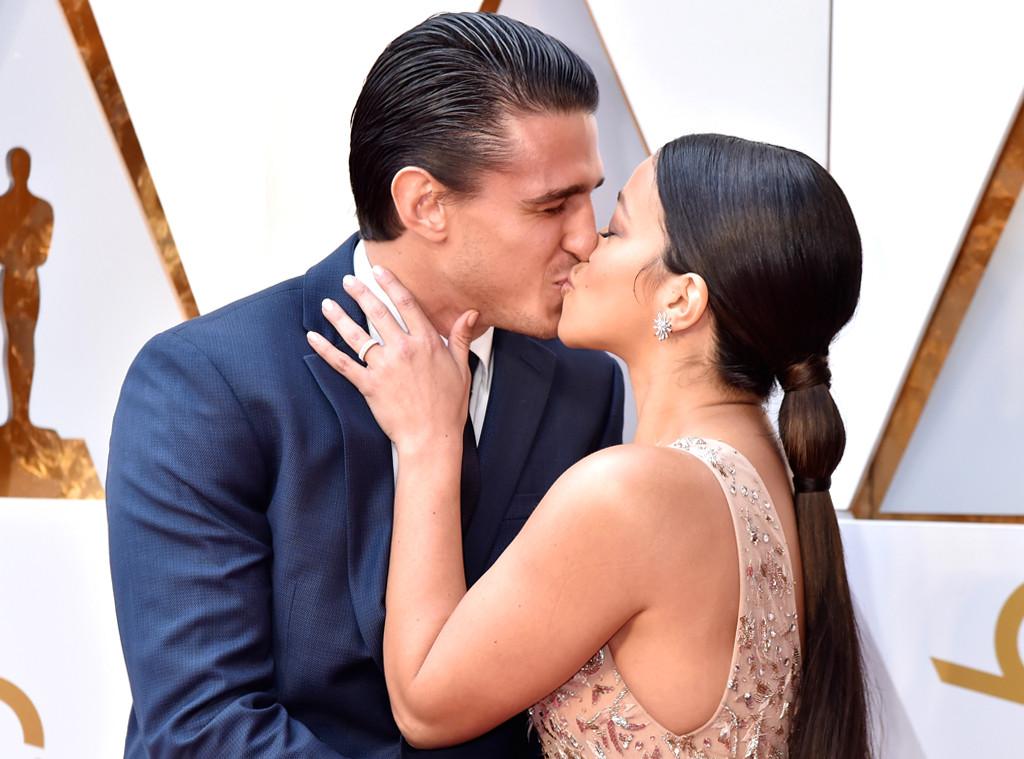 Joe LoCicero, Gina Rodriguez, 2018 Oscars, Candids
