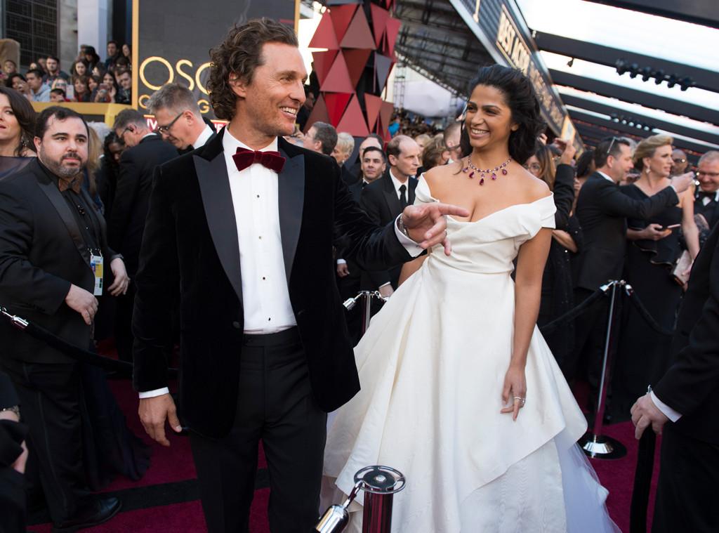 Matthew McConaughey, Camila Alves, 2018 Oscars, Candids