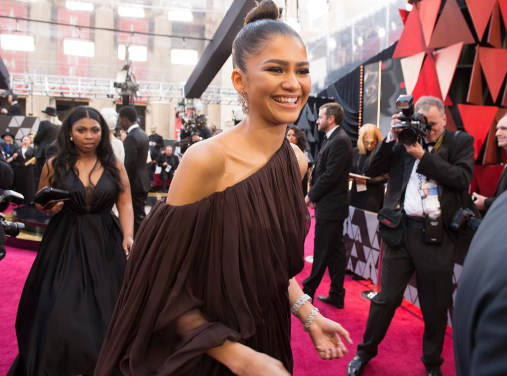 Zendaya, 2018 Oscars, Candids