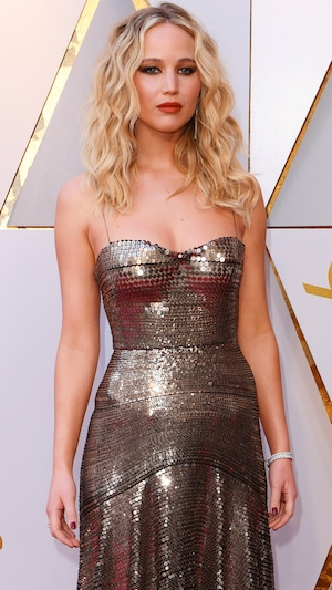 Jennifer Lawrence, 2018 Oscars, Red Carpet Fashions