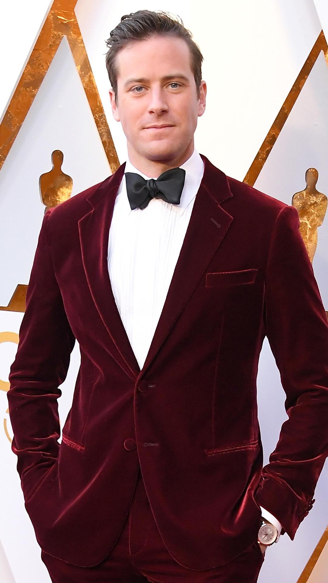 Armie Hammer, 2018 Oscars, Red Carpet Fashions