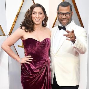 Chelsea Peretti, Jordan Peele, 2018 Oscars, Couples