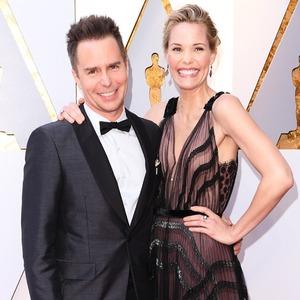Sam Rockwell, Leslie Bibb, 2018 Oscars, Couples