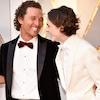 Matthew McConaughey, Timothee Chalamet, 2018 Oscars
