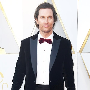 Matthew McConaughey, 2018 Oscars, Red Carpet Fashions