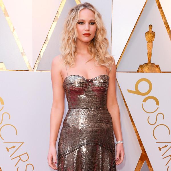 Jennifer Lawrence, 2018 Oscars, Red Carpet Fashions