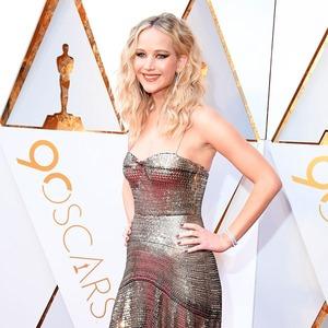 ESC: Jennifer Lawrence, Oscars 2018