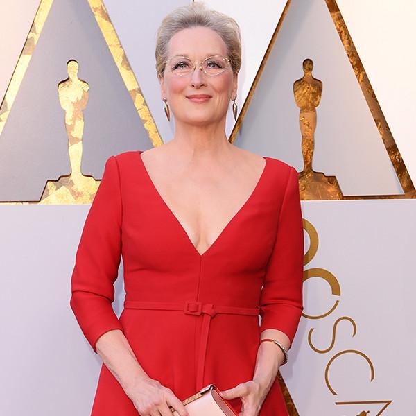 Meryl Streep, 2018 Oscars, Red Carpet Fashions