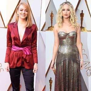 Emma Stone, Jennifer Lawrence