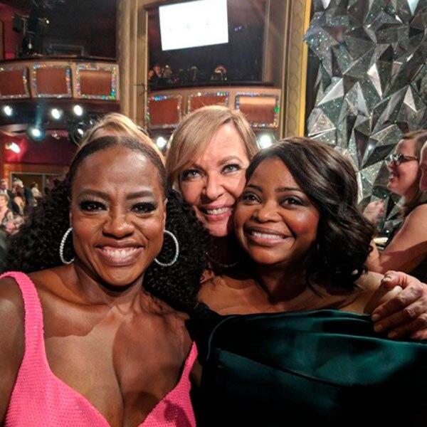 Octavia Spencer, Allison Janney, Viola Davis, 2018 Oscars