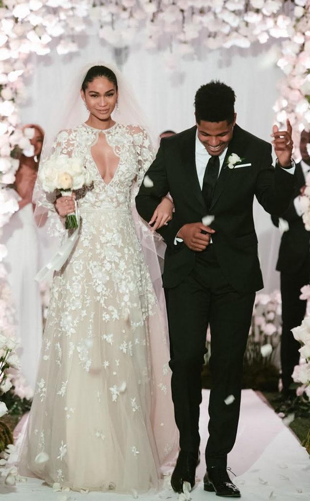 Chanel Wedding Dresses Deep V