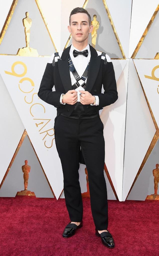Adam Rippon, 2018 Oscars, Red Carpet Fashions