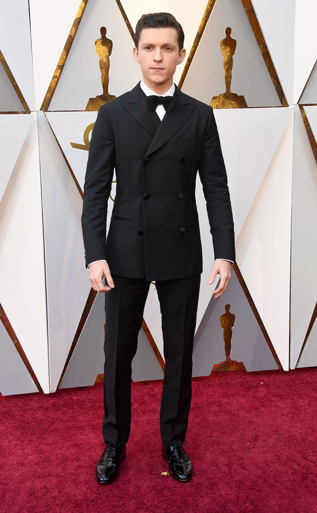 Tom Holland, 2018 Oscars, Red Carpet Fashions