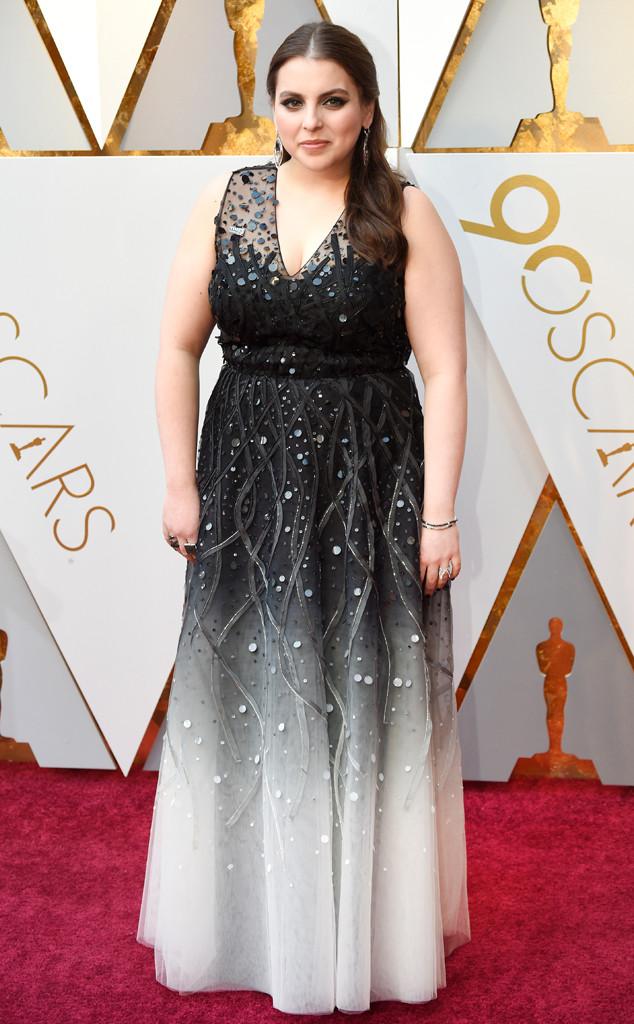 Beanie Feldstein, 2018 Oscars, Red Carpet Fashions