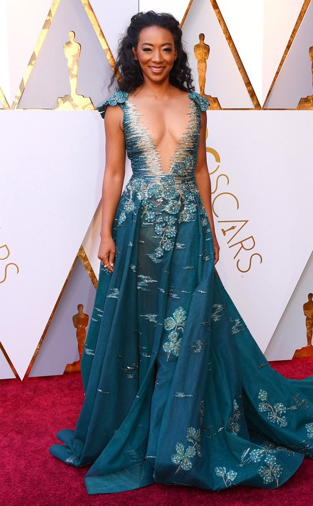 Betty Gabriel, 2018 Oscars, Red Carpet Fashions