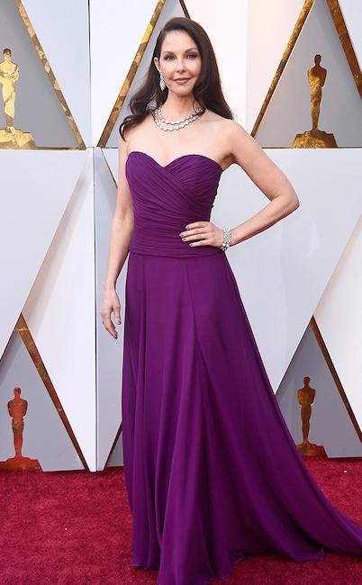 Ashley Judd, 2018 Oscars, Red Carpet Fashions