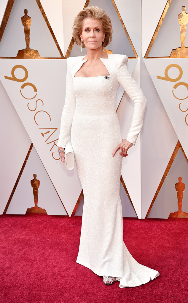 Jane Fonda, 2018 Oscars, Red Carpet Fashions