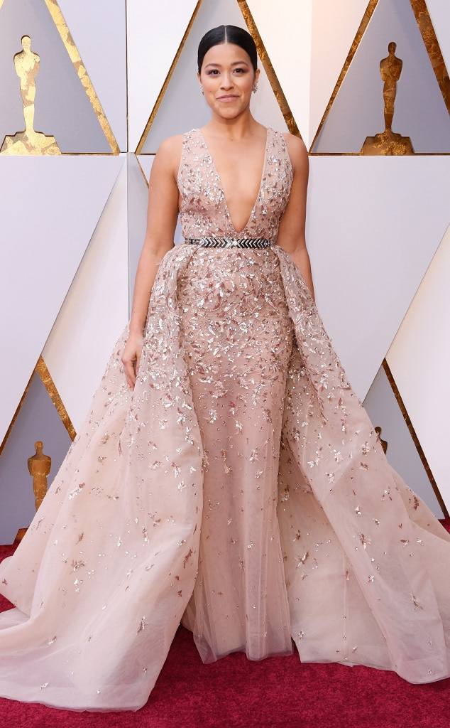 Gina Rodriguez, 2018 Oscars, Red Carpet Fashions