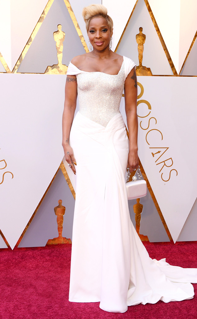 Mary J. Blige, 2018 Oscars, Red Carpet Fashions