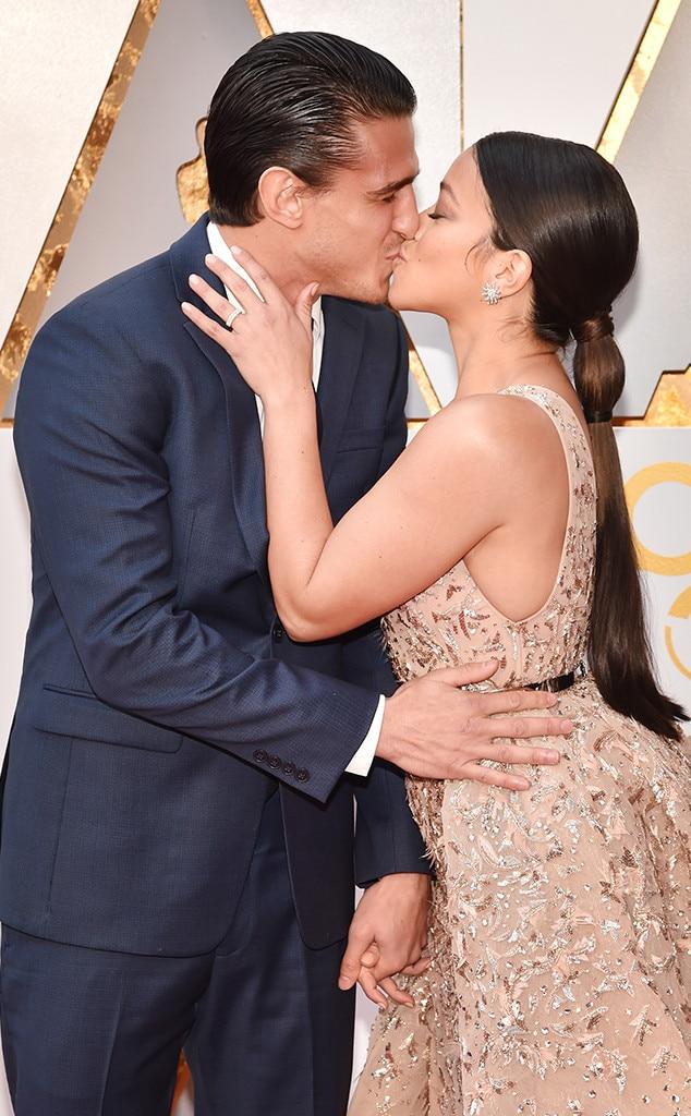 Gina Rodriguez, Joe Locicero, 2018 Oscars