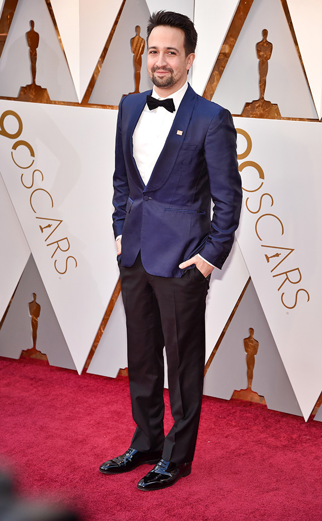 Lin-Manuel Miranda, 2018 Oscars, Red Carpet Fashions